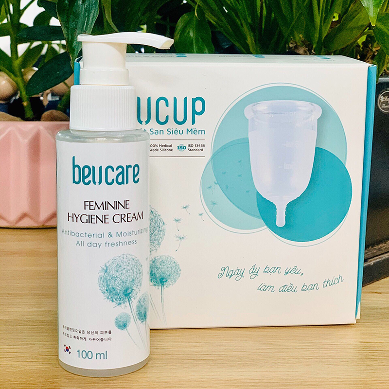 BeU Cup Dung dịch vệ sinh phụ nữ BeUcare