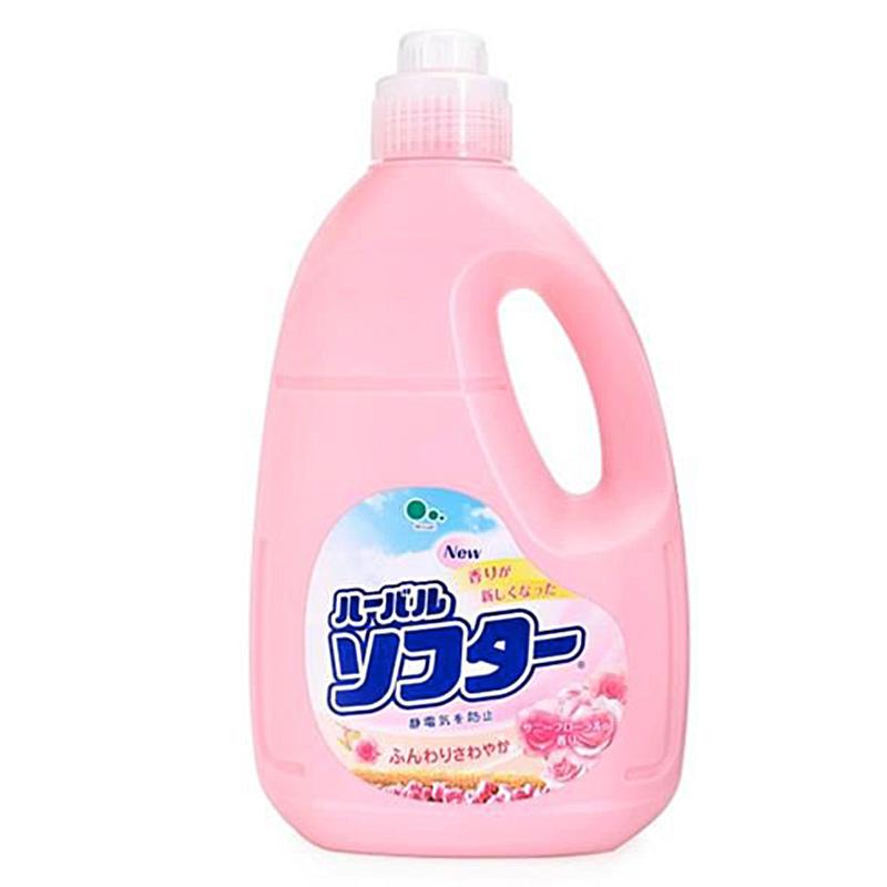 Nước xả làm mềm vải hương hoa hồng Mitsuei 2L