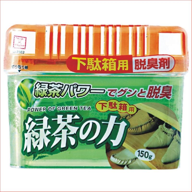 Khử mùi tủ giày hương trà xanh 150g