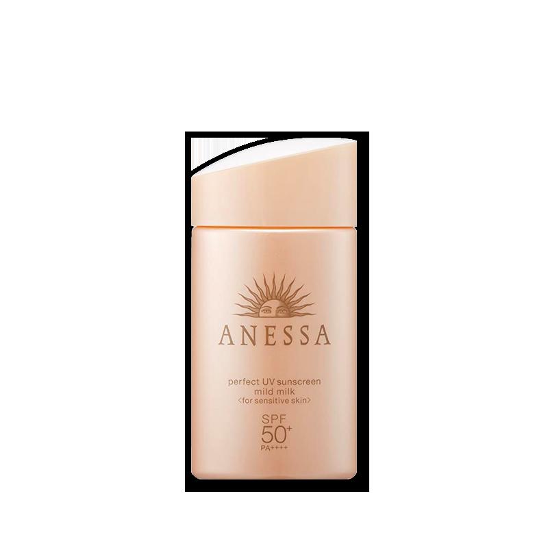 Anessa Sữa chống nắng dịu nhẹ cho da nhạy cảm Perfect UV Sunscreen Mild Milk SPF50+ PA++++ 60ml