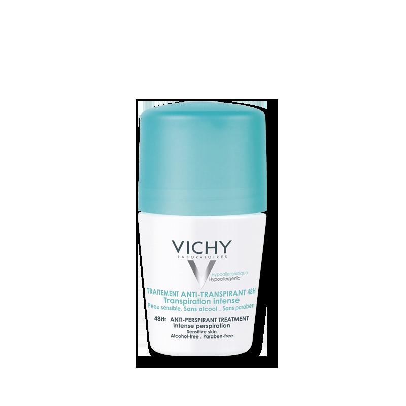 Vichy Lăn khử mùi giúp khô thoáng 48h Traitement Anti-Transpirant 48h 50ml