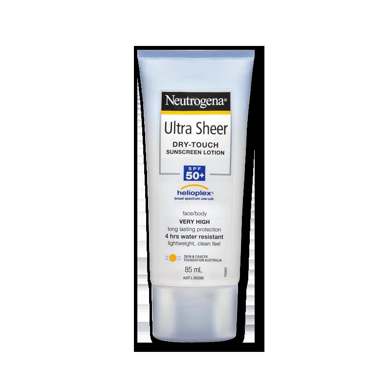 Neutrogena Kem Chống Nắng Ultra Sheer Dry-Touch Sunscreen Lotion SPF 50+ 85ml (Mặt & Cơ Thể)