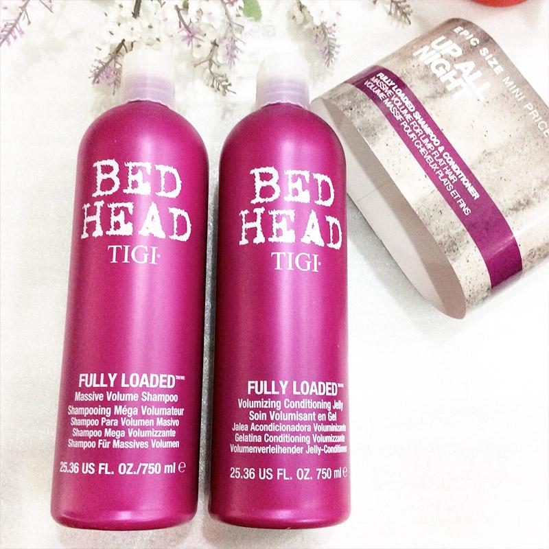 TIGI Bộ dầu gội và dầu xả phục hồi và tăng độ phồng cho tóc Bed ...