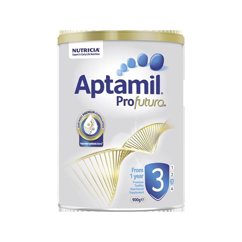 Aptamil Sữa dinh dưỡng Úc số 3 dành cho trẻ từ 1 tuổi Aptamil Profutura 900g