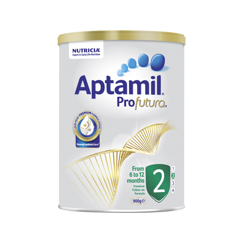 Aptamil Sữa dinh dưỡng Úc số 2 dành cho trẻ từ 6 - 12 tháng tuổi Aptamil Profutura 900g